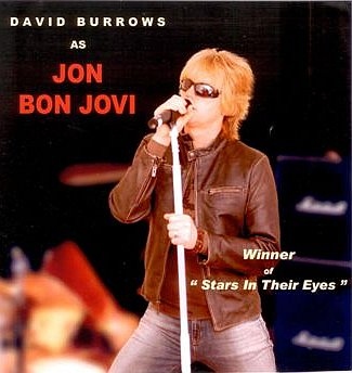 Jon Bon Jovi tribute act by David Burrows - book now with
