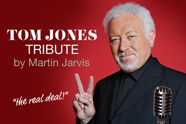 Tom Jones  tribute act by Martin Jarvis