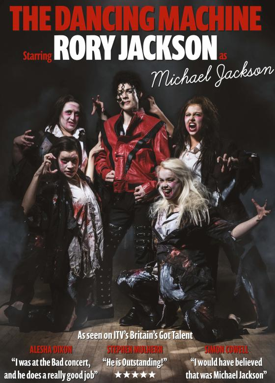 Michael Jackson tribute act by Rory Jackson