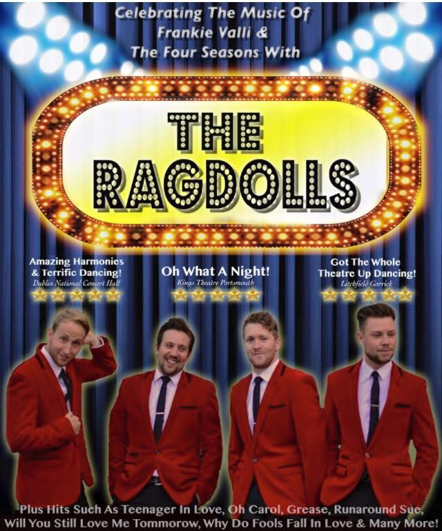 Franki Valli and The Four Seasons tribute act by Ragdolls